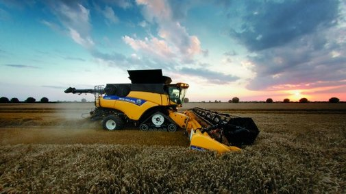 New Holland launches the world's most powerful combine harvester