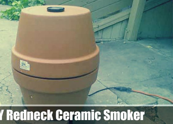 DIY Redneck Ceramic Smoker - SHTF, Emergency Preparedness, Survival Prepping, Homesteading