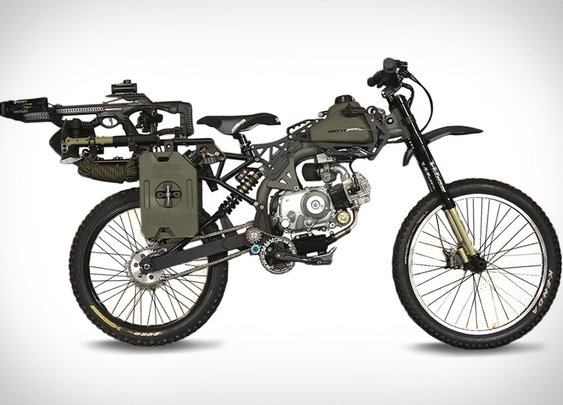 Motoped Survival Bike | Uncrate