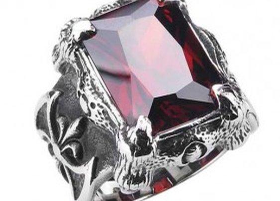 Gothic Fantasy Gemstone Ring
