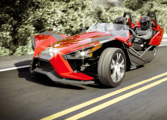 2015 Polaris Slingshot | 3 Wheel Motorcycle - Reverse Trike