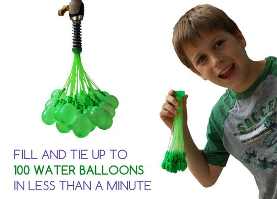 Bunch O Balloons: 100 Water Balloons in Less Than 1 Minute by Tinnus Enterprises — Kickstarter
