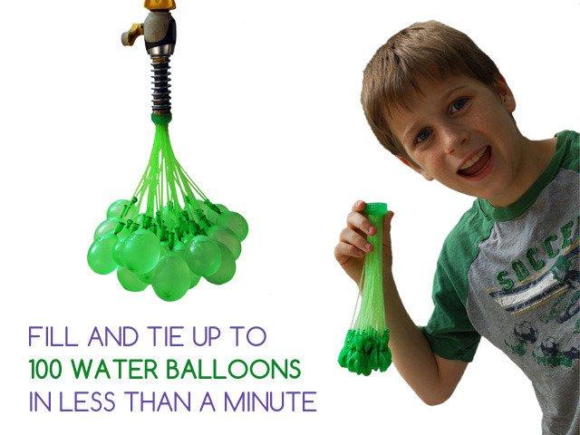 Bunch O Balloons: 100 Water Balloons in Less Than 1 Minute by Tinnus Enterprises — Kickstarter