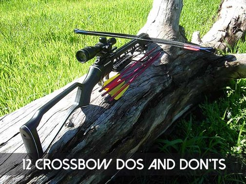 12 Crossbow Dos and Don'ts - SHTF, Emergency Preparedness, Survival Prepping, Homesteading