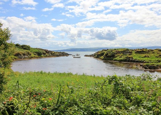 Start of the 2500km bike tour of Ireland's coast