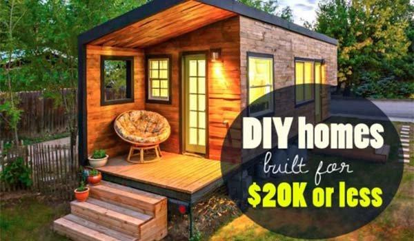 6 Eco-Friendly DIY Homes Built for $20K or Less - SHTF, Emergency Preparedness, Survival Prepping, Homesteading