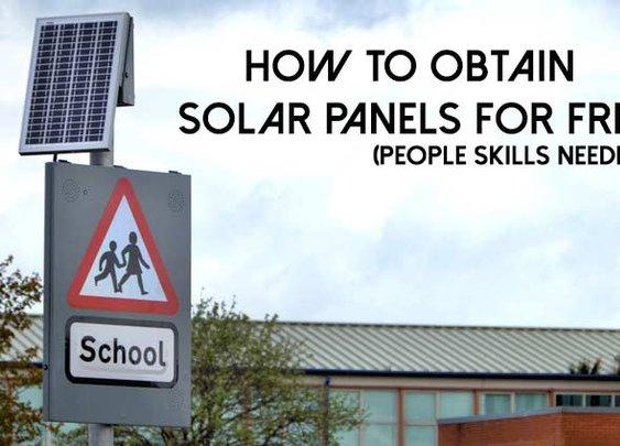 How to Obtain Solar Panels For Free - SHTF, Emergency Preparedness, Survival Prepping, Homesteading