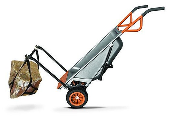 the Aeroworx cart comes with attachments