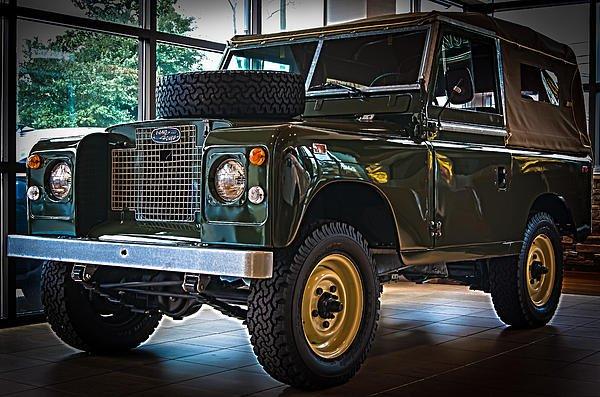 Classic 1969 Land Rover Series IIa by E Karl Braun