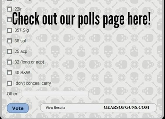New polls page! - Gears of Guns