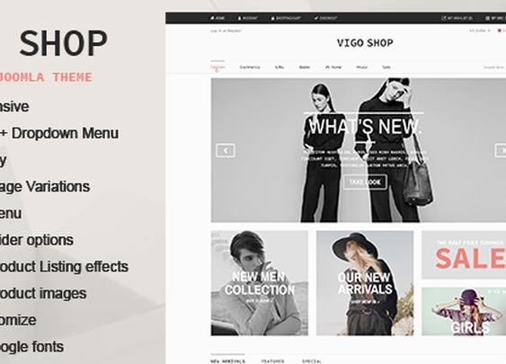 CMS Themes - Vigo Shop - Responsive & Multipurpose Joomla Theme | ThemeForest