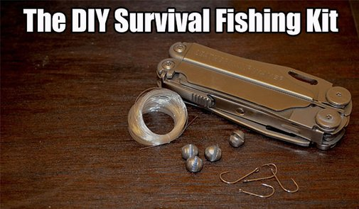 The DIY Survival Fishing Kit - SHTF, Emergency Preparedness, Survival Prepping, Homesteading