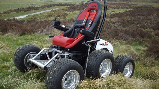 HexHog ATV for wheelchair users who want to rough it
