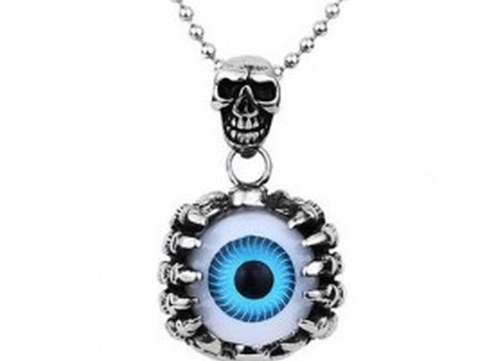 Gothic Jewellery - Eyeball Pendant