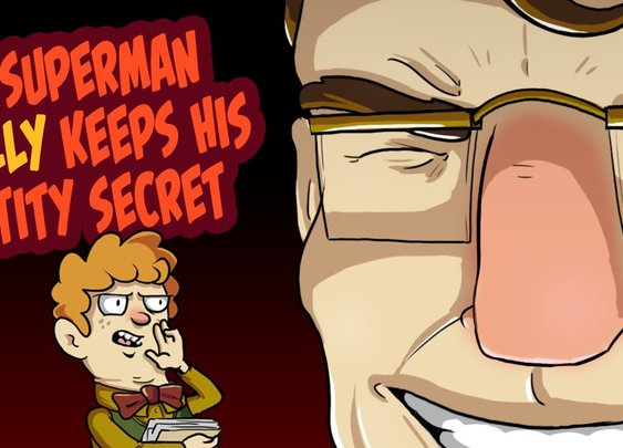 How Superman Actually Keeps His Identity Secret - Dorkly Post