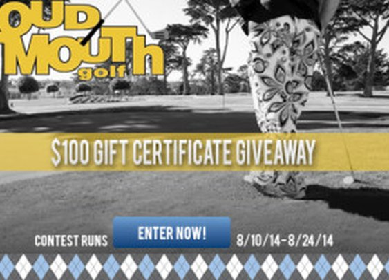 LOUDMOUTH Sweepstakes - More Golf Today