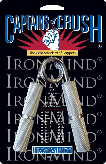 Captains of Crush Hand Grip - Carpal Tunnel Gadgets