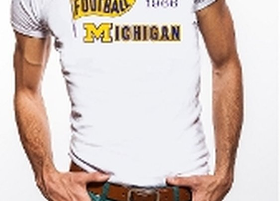 Michigan Tees, Michigan football tees, Vintage retro Michigan tees