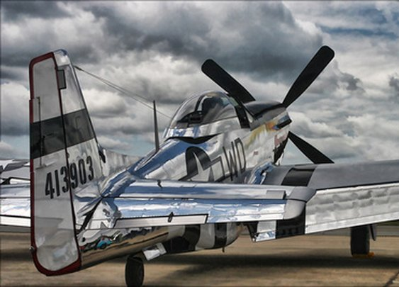 DWPhotoworks | Stucture and Mechanical | P-51