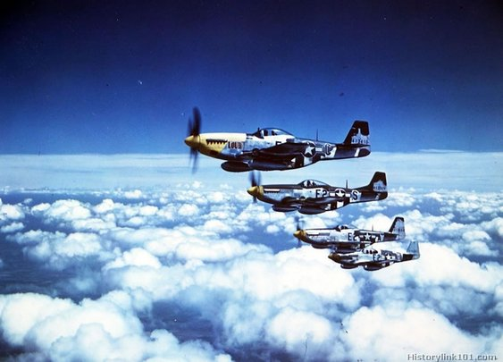 P-51 Mustang Fighters