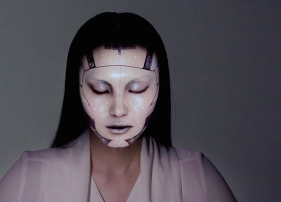 Real-Time Face Tracking & Projection Mapping. on Vimeo