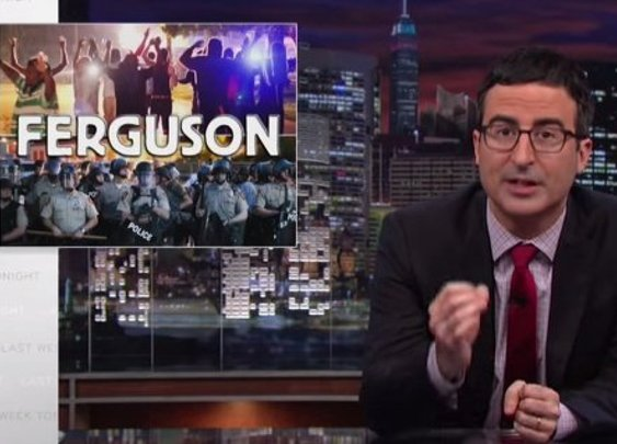 John Oliver Talks Ferguson Violence & Militarized Police: 'This Whole Story Is Depressingly Familiar'