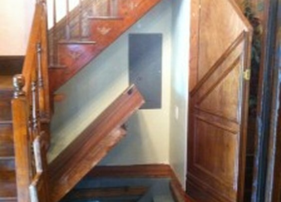 Stairs Hidden Under Other Stairs | StashVault