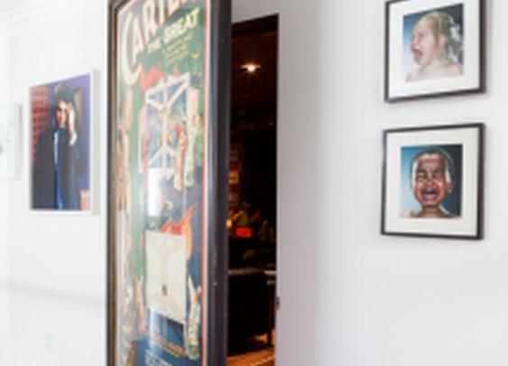 Large Art as a Hidden Door | StashVault