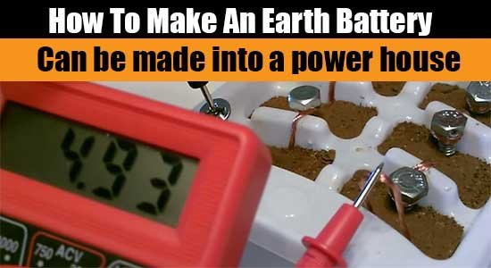 How To Make An Earth Battery - SHTF, Emergency Preparedness, Survival Prepping, Homesteading