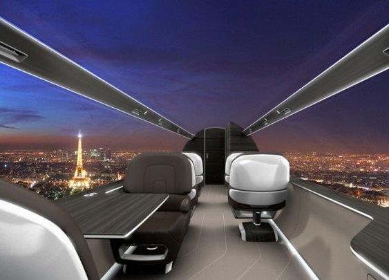 Windowless Planes - Yes, windowless.