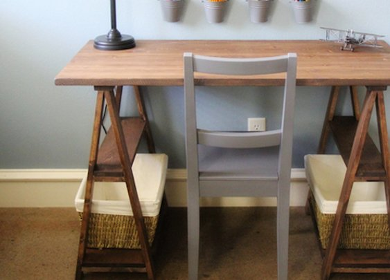 Build Your Own Sawhorse Desk