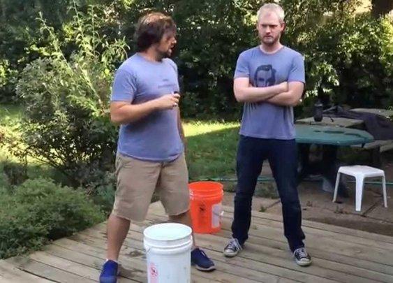 Gentlemint ALS Ice Bucket Challenge
