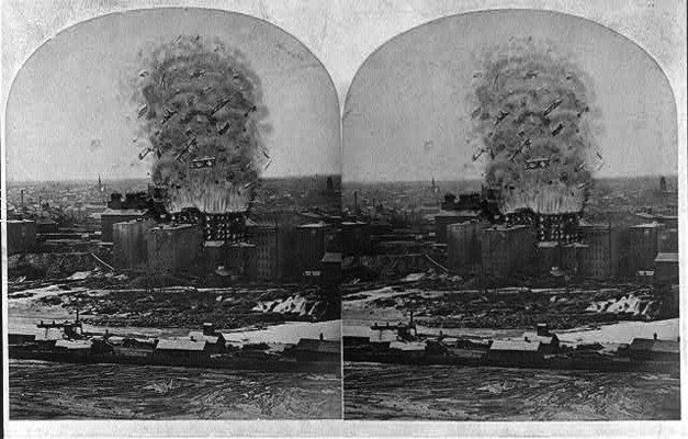 """Mill City Museum and site of """"The Great Mill Disaster""""
