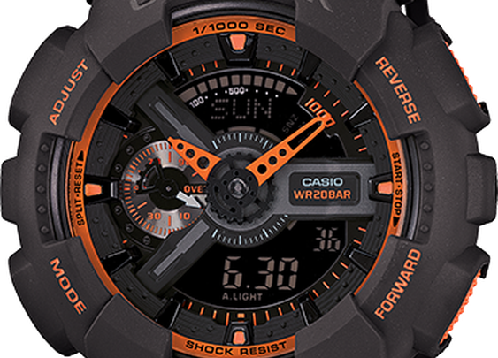 GA110TS-1A4 - Classic - Mens Watches | Casio - G-Shock