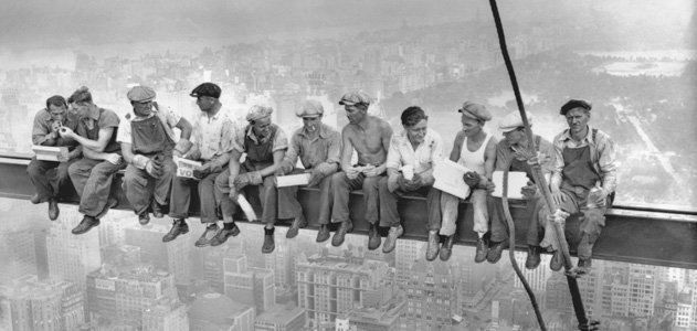 Lunch Atop a Skyscraper Photograph: The Story Behind the Famous Shot | History | Smithsonian