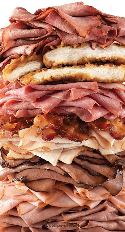 """The $10 """"Meat Mountain"""" from Arby's: It's exactly what it sounds like. - The Washington Post"""