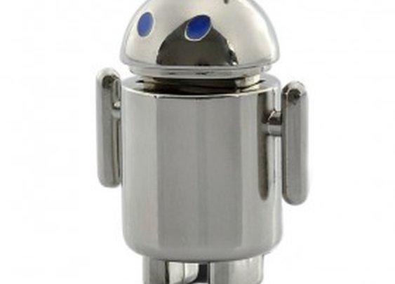 Metal Android Robot - USB Flash Drive