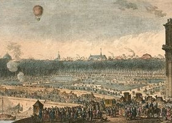 Double Sunsets and Peasants with Pitchforks in the Trials of 18th Century Balloonists | Atlas Obscura