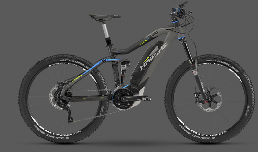 Haibike unleashes mid-motored carbon fiber and electric-suspension e-bikes