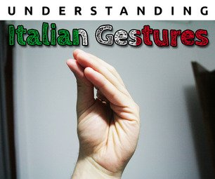 Understanding Italian Gestures