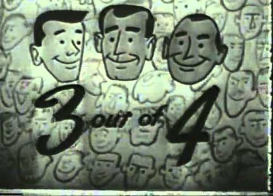 VINTAGE 1952 PALMOLIVE SHAVING CREAM & AFTER SHAVE COMMERCIAL - ANIMATED - YouTube
