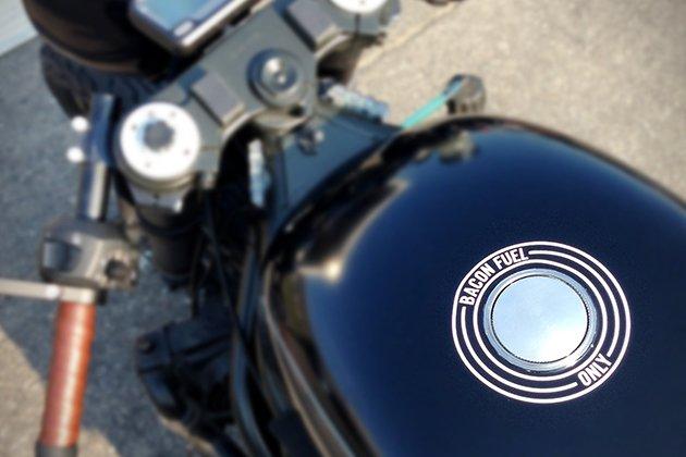Hormel Black Label Bacon-Fueled Motorcycle
