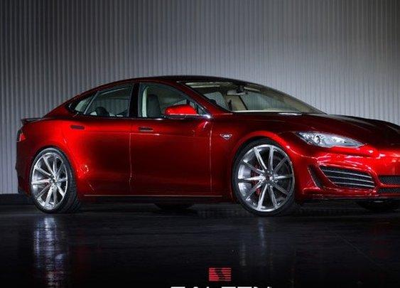 Saleen meets Tesla