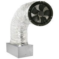 Whole House Fan with German Engineered Motor.