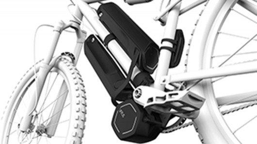 Modular Virtus e-drive transforms a regular bike into an e-bike and back again