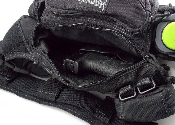 Orange Diamond Concealment Bag Holster | Loaded Pocketz