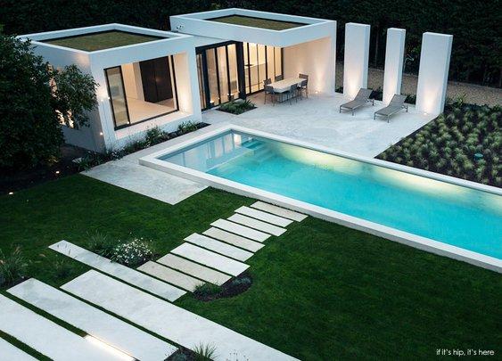Modern Pool House