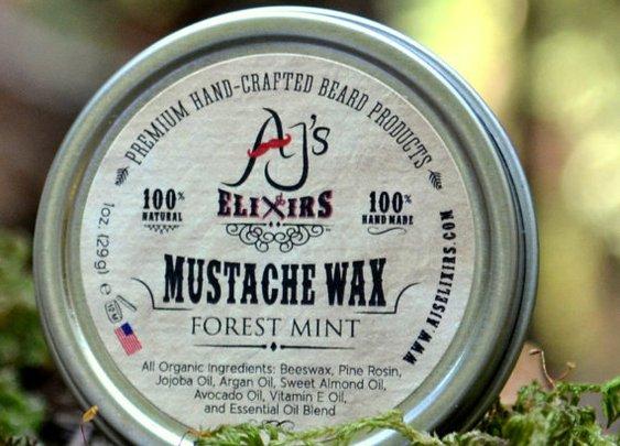 AJ's Elixirs Mustache Wax