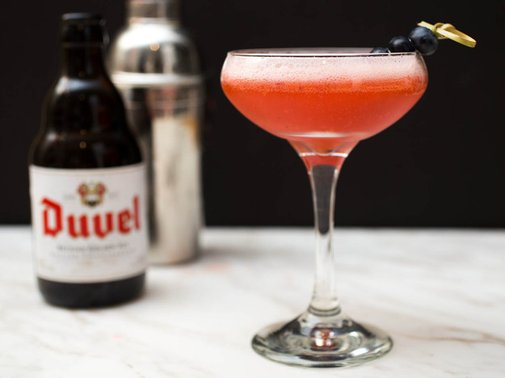 Beer Cocktails: The Hopping Berry | Serious Eats