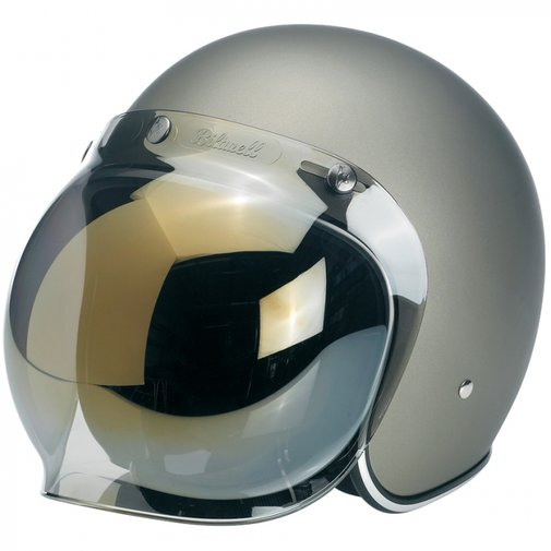 Biltwell Bonanza helmet w/ bubble Shield